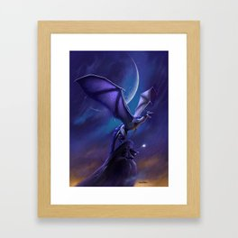 Dragon's Flight Framed Art Print