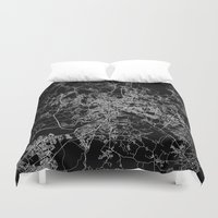 rome Duvet Covers featuring Rome by Line Line Lines