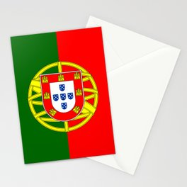 Portugal Flag Portuguese Patriotic Stationery Cards