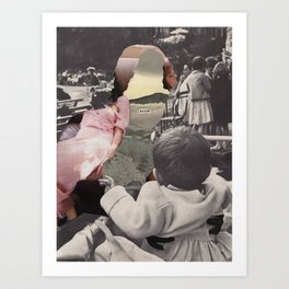 My mother doesn't accept my sexuality. What do I do? Art Print