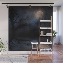 Haunted Forest Wall Mural
