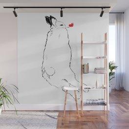 bun Wall Mural