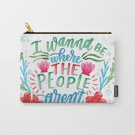 I Don't Like People Carry-All Pouch