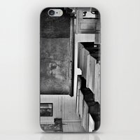 old school iPhone & iPod Skins featuring Old School by SilverSatellite