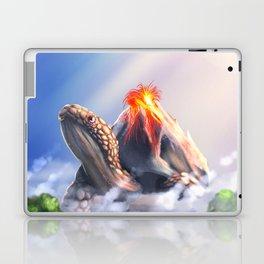 Volcano turtle Laptop & iPad Skin