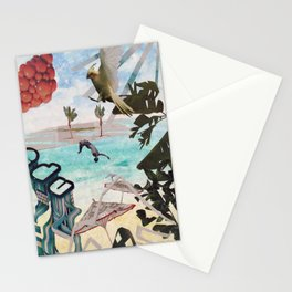 Surrealist Summer Stationery Cards