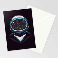Space man Stationery Cards