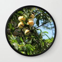 sweet fruits Wall Clock