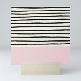 Bubblegum x Stripes Mini Art Print