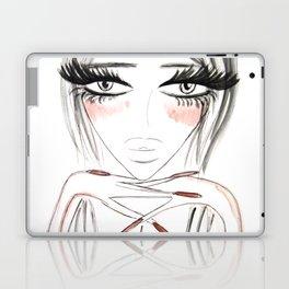 Grey Eyes Laptop & iPad Skin