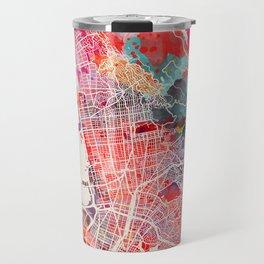 Berkeley map California painting 2 Travel Mug