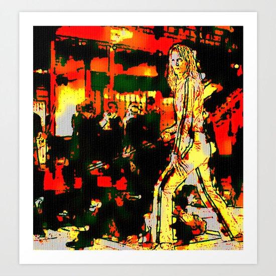 KILL BILL #02  BY Cd KIRVEN Art Print
