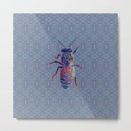 Worker Honey Bee 02 Metal Print