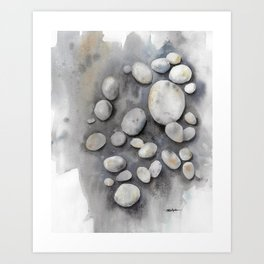 Promise Stones  Art Print