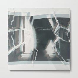 Broken window 2 Metal Print