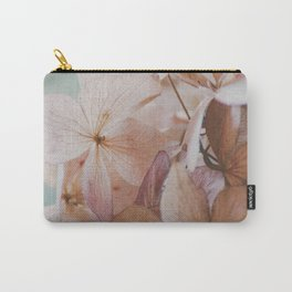 Pastel Hydrangea Carry-All Pouch
