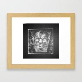Mr. Gargoyle Framed Art Print