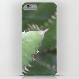 Agave Pads & Spines iPhone Case