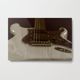 Side Lighting Metal Print