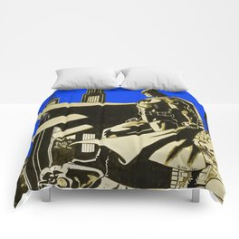 The caped crusader  Comforters