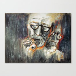 Storytelling - Ocular Prosthesis Canvas Print