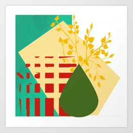 abstract design Art Print