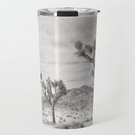 Joshua Tree Grey By CREYES Travel Mug
