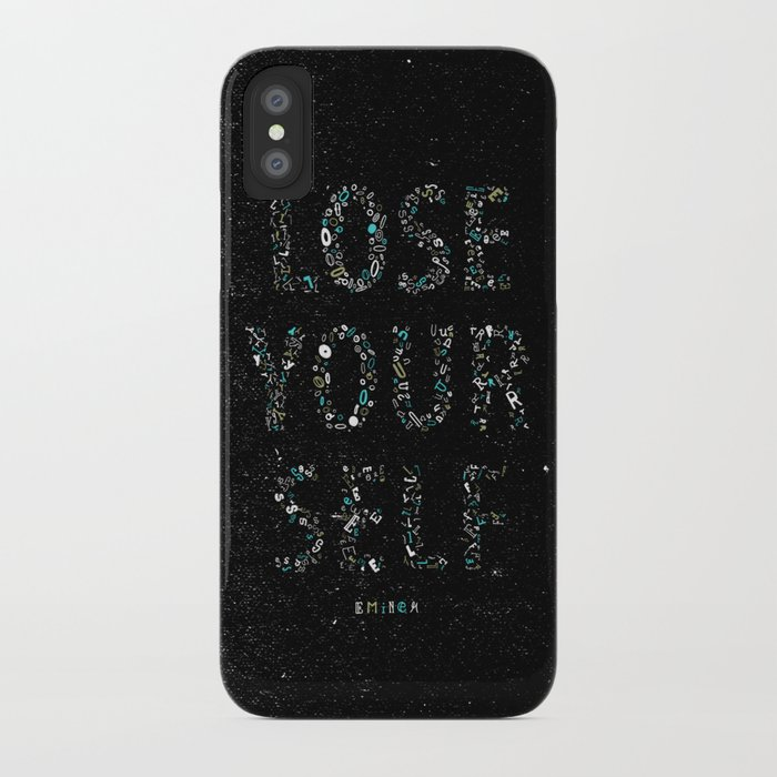LOSE YOURSELF iPhone Case