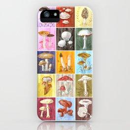 Mushroom Study iPhone Case