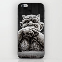 A Little Uneasy iPhone Skin