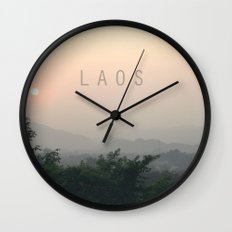 COUNTRY SERIES - LAOS Wall Clock