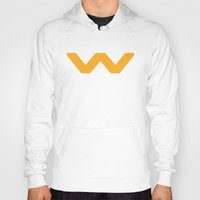 prometheus Hoodies featuring Weyland-Yutani Corporation by IIIIHiveIIII
