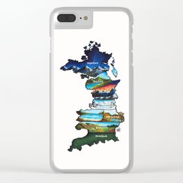 Prythian Clear iPhone Case