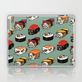 Sushi English Bulldog Laptop & iPad Skin