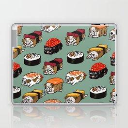 Sushi English Bulldog Laptop & iPad Skin
