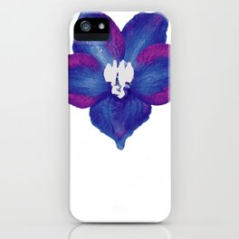 July Larkspur Gardener Or Flower Arranger Gift iPhone Case