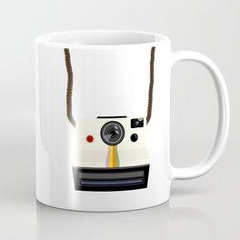 Retro Camera with Strap Coffee Mug