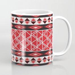 African Tribal Pattern No. 85 Coffee Mug