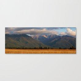 Montana Evening Canvas Print