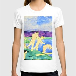 12,000pixel-500dpi - Charles Demuth - Twelve Nude Boys at the Beach - Digital Remastered Edition T-shirt