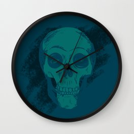 Skull Together Now Wall Clock