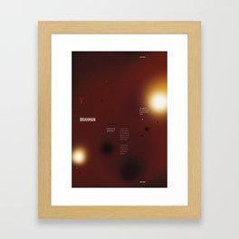 brahman Framed Art Print