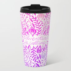 Adventure is Calling – Unicorn Palette Metal Travel Mug