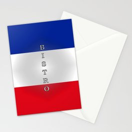Tricolore Bistro Stationery Cards