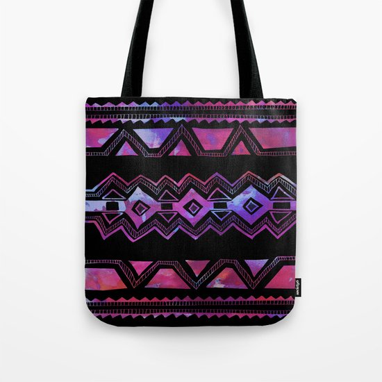 PATTERN {Tribal 001} Tote Bag