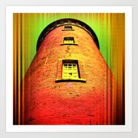 Lighthouse romance 16 Art Print