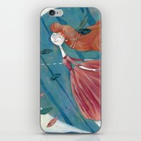 voyage iPhone & iPod Skins featuring voyage by flaviasorr
