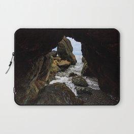 Ruby Beach Sea Cave Laptop Sleeve