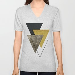 Modern Geometric I Unisex V-Neck