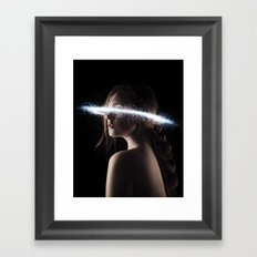 Space Angel Framed Art Print